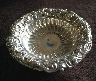 Vintage Whiting Mfg Co Sterling Silver Nut Dish 5498