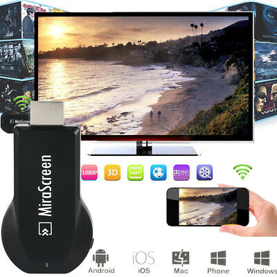 MiraScreen Wifi Display Adapter Dongle 2.4GHZ 802.11n Airpaly Miracast DLNA