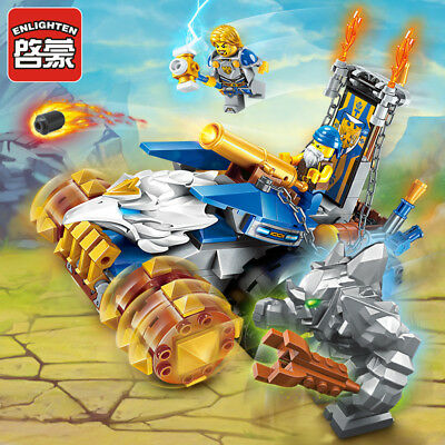 Enlighten 2304 War Of Glory Middle Ages Catapult Car Knight Building Blocks Toy