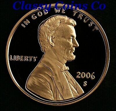2006-S Proof Lincoln Cent ☆☆ Ultra Cameo ☆☆ Fresh From Proof Set