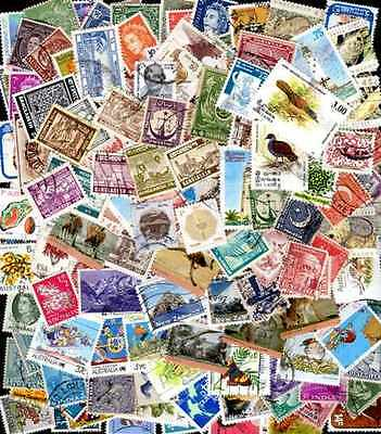 Great Britain Empire - Commonwealth Collectables 100 À 10000 Stamps Different