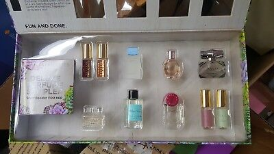 f3fdb3aa946 SEPHORA Favorites Deluxe Perfume Sampler Gucci FlowerBomb NEW w o  Certificate No