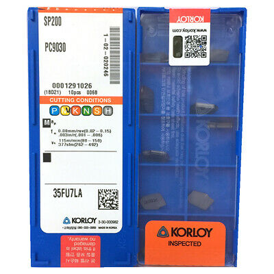 H●KORLOY SP200 PC9030 Carbide Inserts CNC TOOL