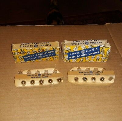 ( NOS ) 18 GE General Electric 51 W51 GE51 Miniature Auto Lamps Light Bulbs