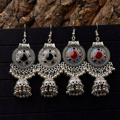 Fashion Women Bohemian Ethnic Tassel Dangle Hook Drop Boho Earring Jewelry LL