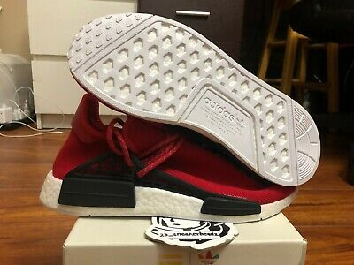 e2a4bfc7539f7 Adidas NMD Pharell Williams Human Race Red sz 10 BB0616 DS 100% Authentic