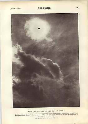1898 Total Eclipse Quetta The Homing Pigeon Premier Revenu