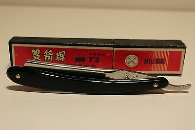 "Vintage Rare China Straight Razor ""Barber Razor"" 66 Double Arrow With Big Blade"