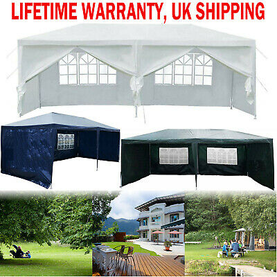 3 X 6 M Gazebos With Sides Gazebo Party Tent Events Shelters Waterproof Marquee
