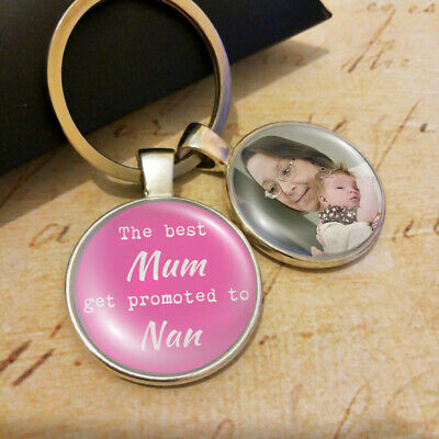 Personalised Mum Nan Nanny Photo Keyring Mothers Day Presents Gifts UK Promoted