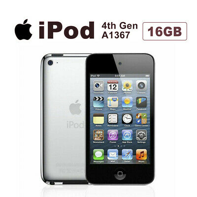 Apple iPod Touch 4th Gen Generation 16GB A1367 Black AU Stock Warranty iPod Only