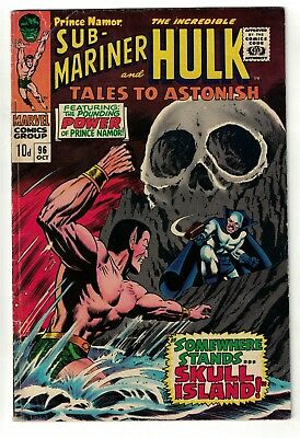 Marvel comics Tales to astonish 96 Sub mariner Hulk Avengers 5.5
