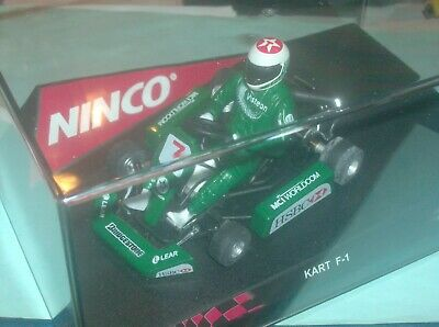Ninco 50225 GoKart F1-Series Jaguar HSBC Bank Nr. 7 in OVP