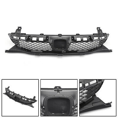 New Front Bumper Grille Grill Black For 2009-2011 Honda Civic Sedan 4 Door US