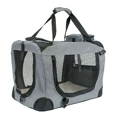 Soft Grey Pet Carrier - Large