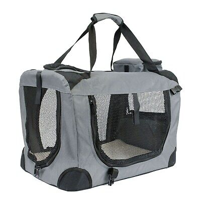 Soft Grey Pet Carrier - Xtra Large