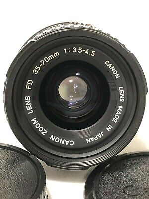 【EXC+++】Canon New FD 35-70mm f/3.5-4.5 Zoom Macro Lens From Japan