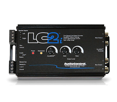 AudioControl LC2i 2 Channel Line Output Converter Including AccBass Processor