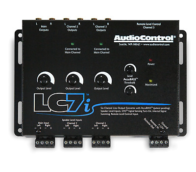 AudioControl LC7i 6 Channel Line Output Converter with ACCU Bass