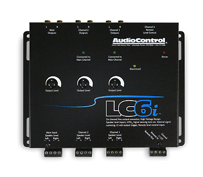 AudioControl LC6i 6 Channel Line Output Converter