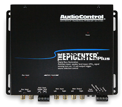 AudioControl The Epicenter PLUS Digital Bass Restoration with OEM interface