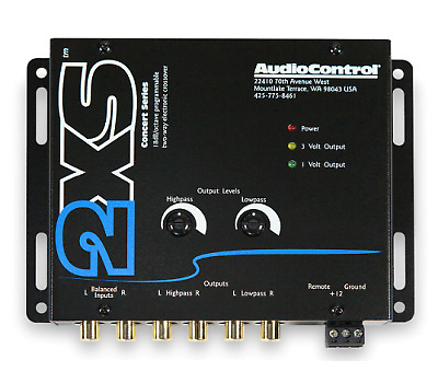 AudioControl 2XS Two Way Electronic Crossover