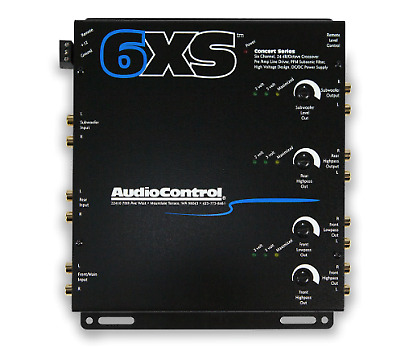 AudioControl 6XS Six Channel Electronic Crossover