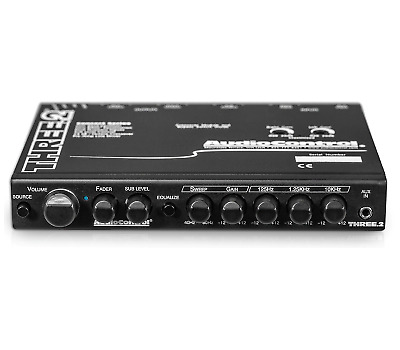 AudioControl Three.2 In-Dash Equalizer/ Crossover/ Line Driver