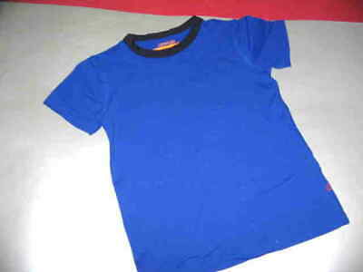 Crewcuts Wear Your Shade Upf 50+  Bright Blue With Navy Trim S/s Top Sz. 4/5