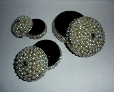 Set of 3 Trinket Box Pearl Look Boxes Home RELIGIOUS Christmas DIWALI GIFT EBAY
