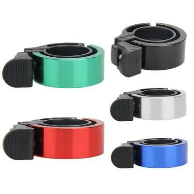 Aluminum Bell Bicycle Horn Mountain Bike Bell Riding Accessories Red Blue Silver
