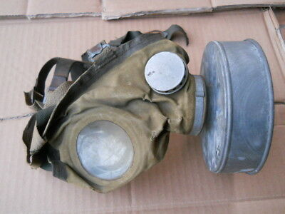 2Gm Maschera Antigas Civile Tedesca - Ww2 German Civilian Gasmask - M44