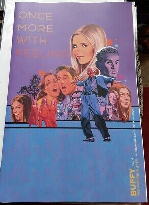 Buffy The Vampire Slayer #4 Variant Cover NM Unread Bagged