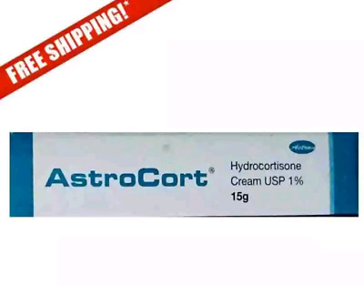 Maximum Strength Hydrocortisone USP 1% 15g Cream Relief for Insect Bites Rashes