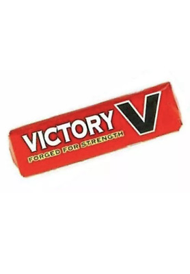 Victory V Lozenges Packs Retro Old Sweet Forged for Strength. Choose Amount