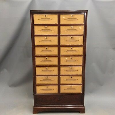 FRENCH MAHOGANY FILING CABINET  Ref a14724