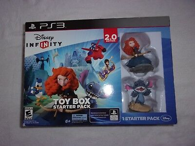 Disney INFINITY: Toy Box Starter Pack (2.0 Edition)  - SONY Play Station 3- New