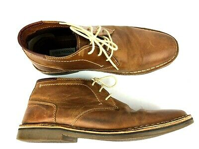 5ae1f20c047 STEVE MADDEN MENS Hestonn Tan Ankle Boots Size 11 hipster style