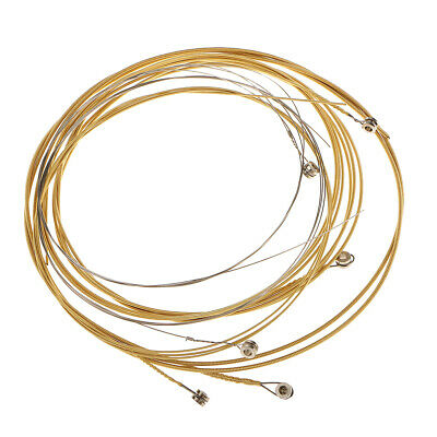 High Quality 6pcs E-B-D-G-A-E String for 38-41Inch Acoustic Guitar Accessory