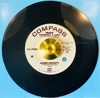 *** James Bounty *** Prove Yourself A Lady **Vg++ *Northern Soul *Wigan Casino
