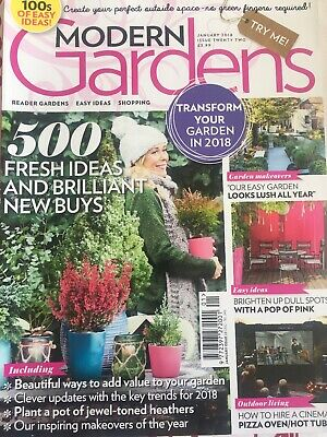Modern Gardens Magazine January 2018 Issue