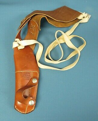 NEW BRN Military Issue Adirondack Leather Shoulder Holster 1911 45Cal 9mm