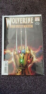 Marvel Comic Wolverine Infinity Watch 1 First Print Brand New! Mint Condition!