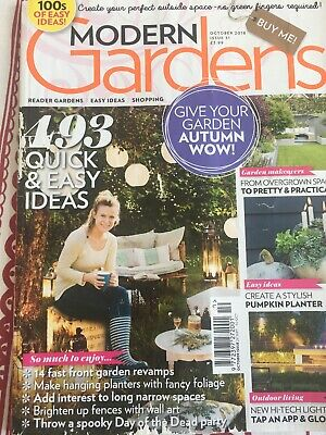 Modern Gardens Magazine Issue October 2018