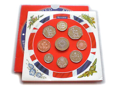 1997 UK Brilliant Uncirculated Coin Year Set Sealed Royal Mint