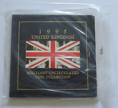 1995 UK Brilliant Uncirculated Coin Year Set Sealed Royal Mint