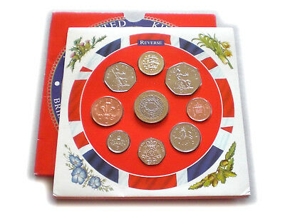 1997 UK Brilliant Uncirculated Coin Year Set Royal Mint