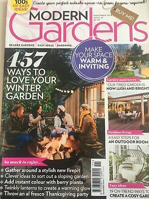Modern Gardens Magazine Issue November 2018