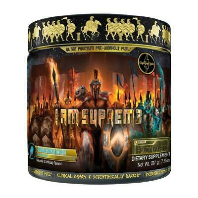 Olympus Labs I AM SUPREME 20 servings Intense Pre Workout, Great Pumps & Energy