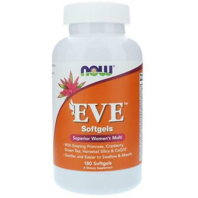 NOW Foods EVE 180 softgels Superior Women's Multi-Vitamin Complex E-Z to Swallow